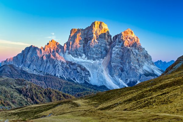Krajina_Dolomity Itálie
